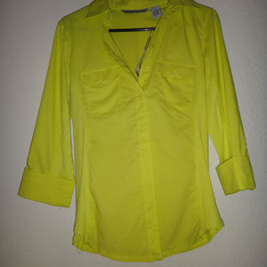 NWT Signature by Larry Levine Blouse Size S